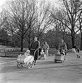 Lenteplaatjes. Heidewagens in Vondelpark, Bestanddeelnr 905-6076.jpg