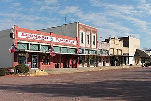 Leonard, Texas - Image: Leonard, Texas