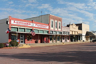 Leonard, Texas City in Texas, United States