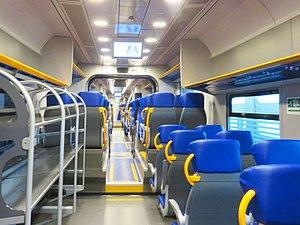 Leonardo Express - Interior of the train