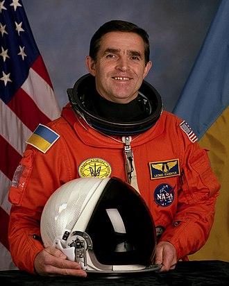 State Space Agency of Ukraine - Leonid K. Kadenyuk, first space traveler from Ukraine