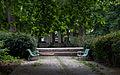 Les deux bancs, Parc de Bercy, 2014.jpg