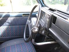 Renault 4 wikip dia for Interieur 4l