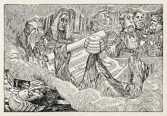 Lewis Carroll - Henry Holiday - Hunting of the Snark - Plate 8.jpg