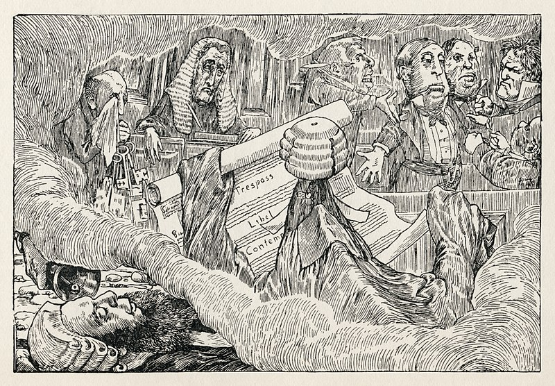 File:Lewis Carroll - Henry Holiday - Hunting of the Snark - Plate 8.jpg
