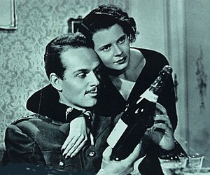 Lianella Carell - Frank Latimore and Carell in A Woman Has Killed  (1952)