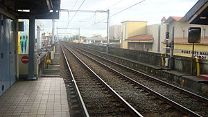 Libertad LRT station - Image: Libertadjf