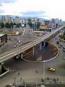 Addis Ababa-Light rail-Light Rail Traffic Circle