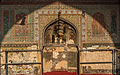 Light shadow on the internal wall of main praying chamber of Wazir Khan Mosque.jpg