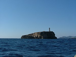 Cabrera, Balearic Islands - Image: Lighthouse foradada cabrera