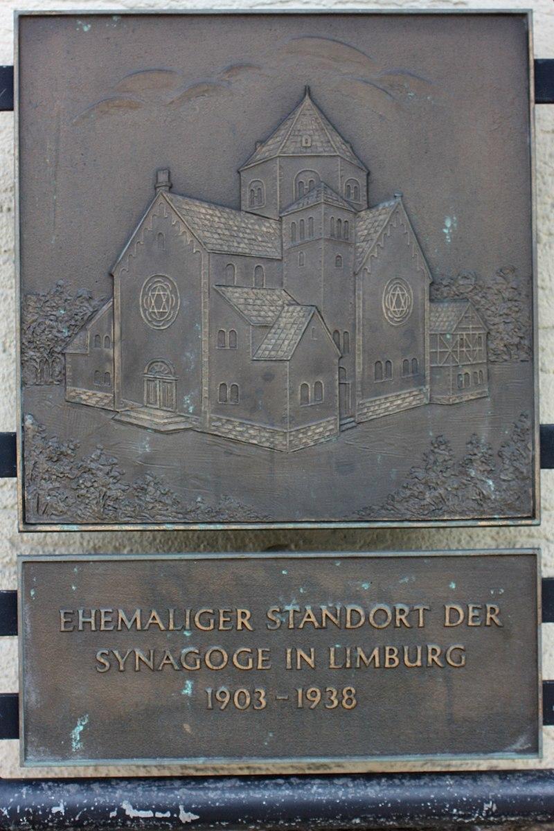 Limburg, Schiede Gedenktafel Synagoge.JPG