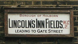 Lincolns Inn Fields public square in London