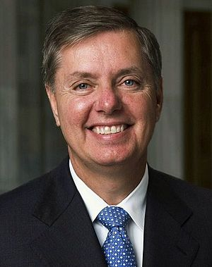 English: Lindsey Graham, U.S. Senator from Sou...