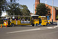Lions Club of Leeton's lion train departs Church St.jpg