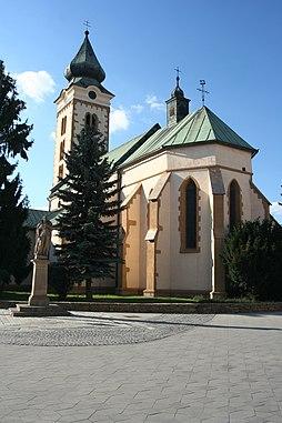 Kostel ve městě