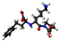 Lisinopril 3D ball.png