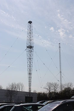 Lisnagarvey transmitter mast, April 2010.JPG