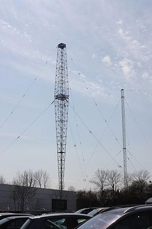 Lisnagarvey transmitting station - Image: Lisnagarvey transmitter mast, April 2010