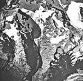 Little Jarvis Glacier, hanging glacier, September 17, 1966 (GLACIERS 5238).jpg