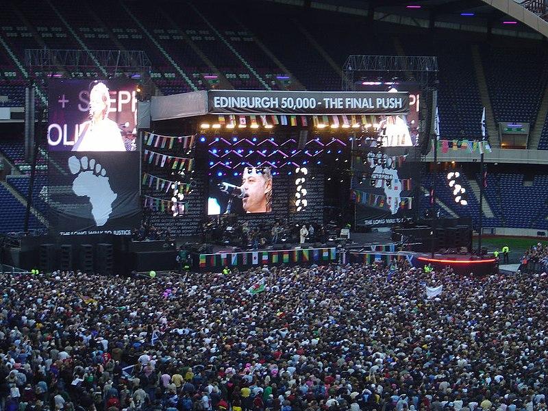 Live 8 - edinburgh 50000 - the final push rjl.jpg