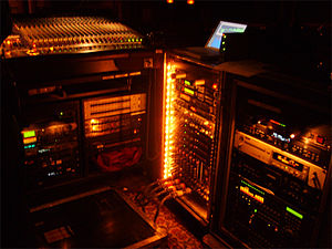 19-inch rack - Several 19-inch racks in a professional audio application