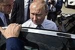 Llegada de Vladimir Putin, presidente de Rusia (44299046510).jpg