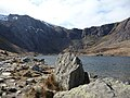 Llyn Idwal and the Devil's Kitchen behind - geograph.org.uk - 1764910.jpg