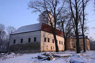 Lobkowicz - Image: Lobkovice in winter