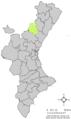 Localització de la Font de la Reina respecte del País Valencià.png