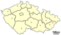 Location of Czech city ValMez.png
