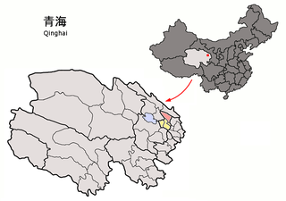 Datong Hui and Tu Autonomous County County in Qinghai, Peoples Republic of China