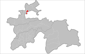 Location of Jabbor Rasulov District in Tajikistan.png