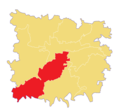 Location of Raniganj Union in Jagannathpur Upazila.png