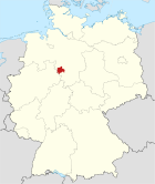 Locator map HM in Germany.svg
