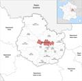 Locator map of Kanton Fontaine-lès-Dijon 2019.png