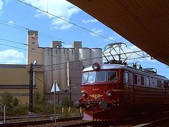 Trunk Line - Image: Locomotive El 11 eidsvoll
