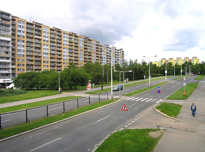 Lodžská ulice, Praha 8