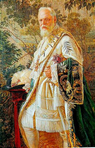 Ludwig III of Bavaria - Portrait of Ludwig III, aged 70.