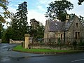 Lodge and drive to Leighton Hall - geograph.org.uk - 252085.jpg