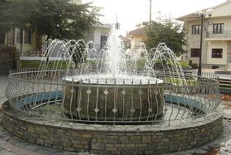 Lofos, Pieria - A fountain in Lofos