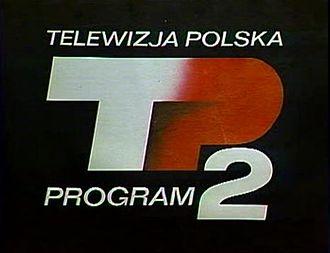 TVP2 - Image: Logo TVP2 z lat 1970 1980