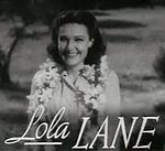 Lola Lane en Four Daughters-trailer.jpg