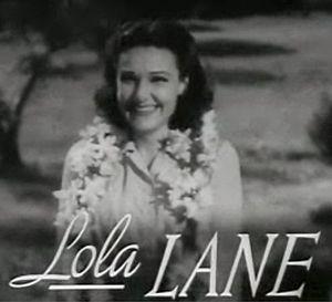 Lane Sisters - Image: Lola Lane in Four Daughters trailer