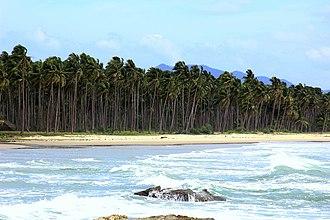 San Vicente, Palawan - Image: Long Beach in San Vicente