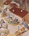 Lorenzo Lotto - Stories of St Barbara (detail) - WGA13690.jpg