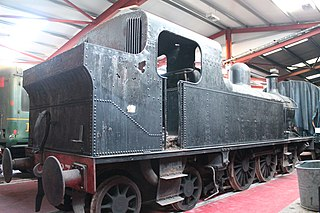 SLNCR Lough class class of 2 two-cylinder 0-6-4T locomotives