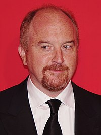 Louis C. K. at the 2012 Time 100 gala.