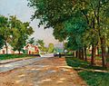 Louis Tauzin avenue du château.JPG