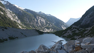 Tarn (lake) - Image: Lousy Lake (tarn) N. Cascades Nat. Park, Pickett Range WA