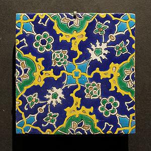 Cuerda seca - Image: Louvre carreaux ottomans 16